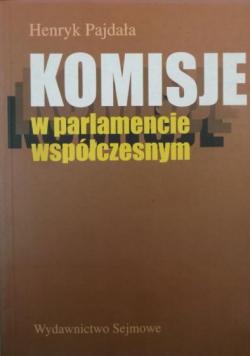 Komisje w parlamencie współczesnym