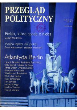 Przegląd polityczny nr 57 - 58