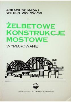 Żelbetowe konstrukcje mostowe