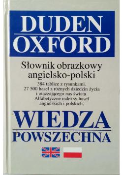 Duden Oxford słownik obrazkowy angielsko polski