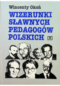Wizerunki sławnych pedagogów polskich