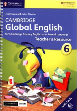 Cambridge Global English 6 Teacher's Resource with Cambridge Elevate