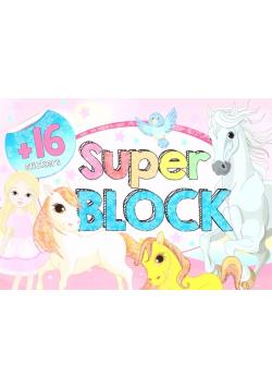 Super block + 16 naklejek