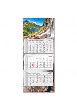 Kalendarz 2022 trójdzielny główka płaska Tatry