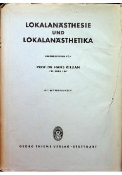 Lokalanasthesie und Lokalanasthetika