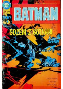 Batman Nr 1 Golem z Gotham