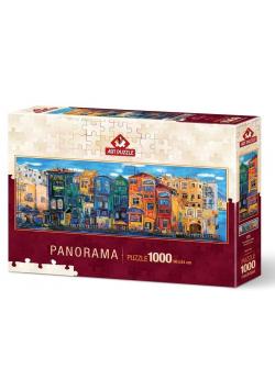 Puzzle 1000 Kolorowe miasto (Panorama)