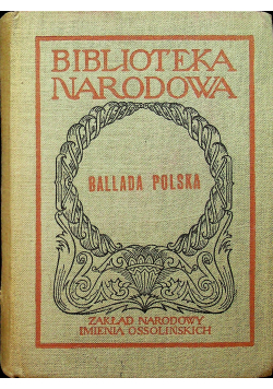 Ballada Polska plus autograf Zgorzelski