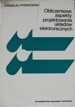 Obliczeniowe aspekty projektowania układów elektronicznych