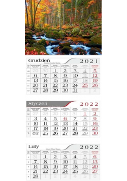 Kalendarz 2022 Trójdzielny Potok CRUX