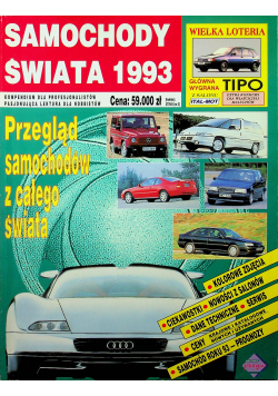 Samochody świata 1993