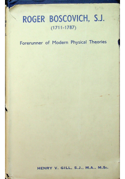 Forerunner of Modern Physical Theories 1941 r.