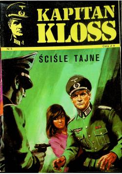 Kapitan Kloss nr 5 Ściśle tajne
