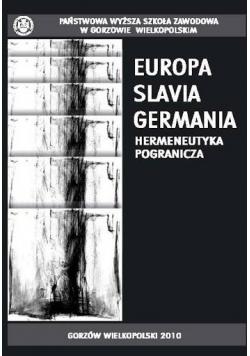Europa Slavia Germania