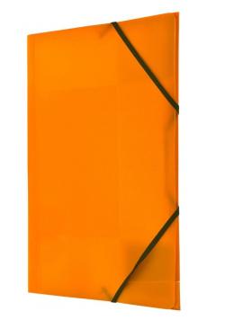 Teczka z gumką nar. A4 pomarańczowa BT624-P