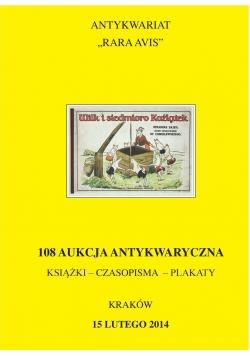 108 aukcja Antykwaryczna