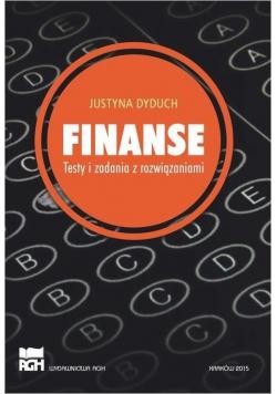Finanse. Testy i zadania z rozwiązaniami