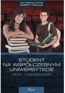 Student na współczesnym uniwersytecie
