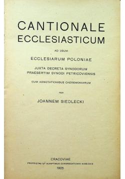 Cantionale ecclesiasticum ad usum ecclesiarum poloniae 1925r