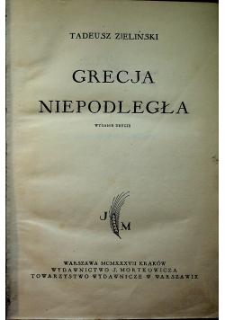 Grecja niepodległa 1937 r.