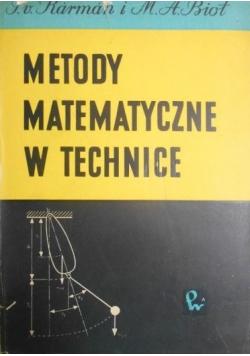Metody matematyczne w technice