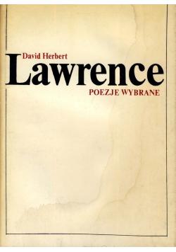 Lawrence Poezje wybrane