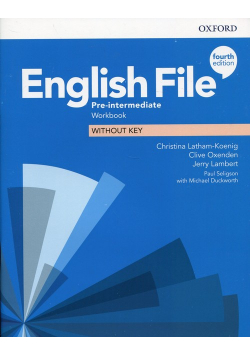 English File Pre-Intermediate Workbook without key