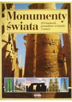 Monumenty świata 215 budowli pomników techniki i natury