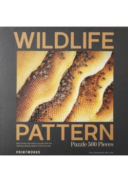 Puzzle 500 Wildlife Pattern Bee