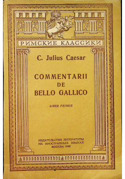 Commentarii de Bello Gallico,1923r