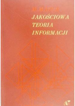 Jakościowa teoria informacji