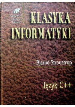 Klasyka informatyki Język C plus plus