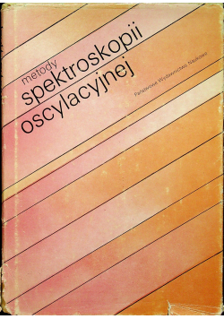 Metody spektroskopii oscylacyjnej