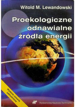 Proekologiczne odnawialne źródła energii