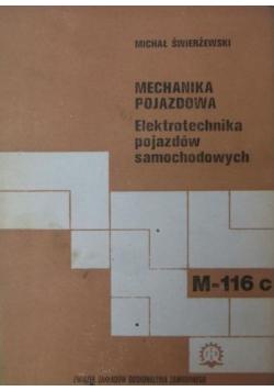 Mechanika pojazdowa elektrotechnika pojazdów samochodowych
