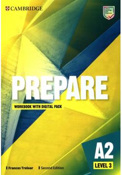 Prepare Level 3 Workbook with Digital Pack