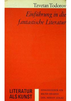 Einfuhrung in die fantastische Literatur