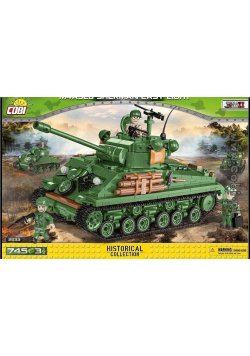 HV WWII M4A3E8 Sherman Easy Eight