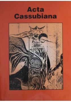 Acta Cassubiana Tom VI