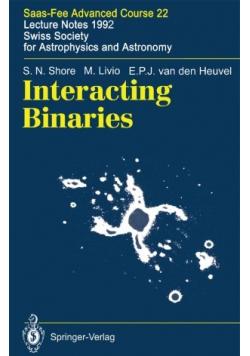 Interacting Binaries