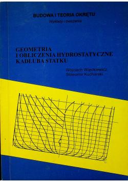 Geometria i obliczenia Hydrostatyczne Kadłuba Statku