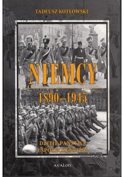 Niemcy 1890 1945 Dzieje państwa i społeczeństwa