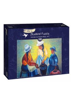 Puzzle 1000 Toffoli, Kobiety z niebieskim dzbanem