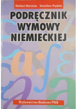 Podręcznik wymowy niemieckiej