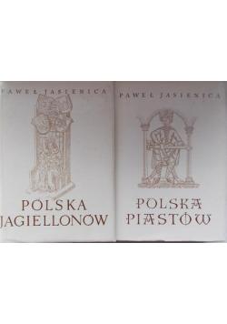 Polska Jagiellonów / Polska Piastów