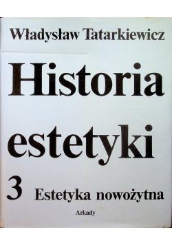 Historia estetyki 3 Estetyka nowożytna