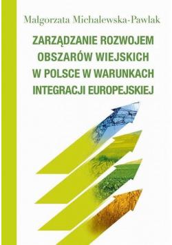 Zarządzanie rozwojem obszarów wiejskich w Polsce..