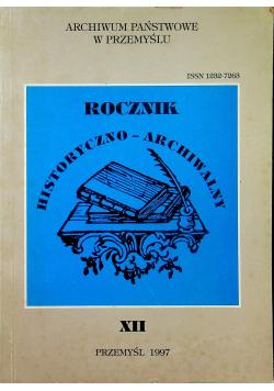 Rocznik historyczno archiwalny XII