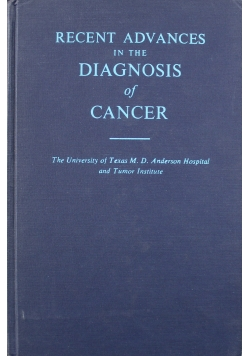 Recent Advances in the Diagnosis of Cancer