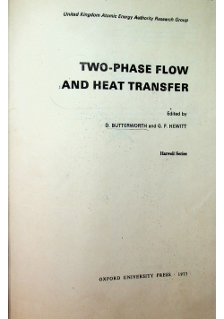 Two Phase Flow and Heat Transfer